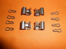 AUTOBIANCHI Y10 (89-92) LANCIA Y10 (85-95) BRAKE PAD FITTING KIT - FMK4003